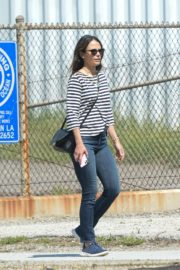 Jordana Brewster out and about in Los Angeles 2020/03/31 2