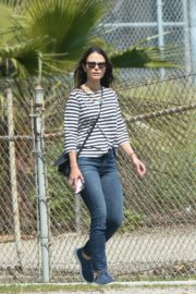 Jordana Brewster out and about in Los Angeles 2020/03/31 6