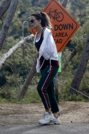 Kate Beckinsale walks with her dog in Los Angeles 2020/04/06 1
