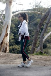 Kate Beckinsale walks with her dog in Los Angeles 2020/04/06 8