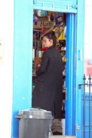 Lily James at a local hardware store in London 2020/04/07 3
