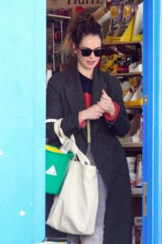 Lily James at a local hardware store in London 2020/04/07 4