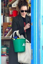 Lily James at a local hardware store in London 2020/04/07 8