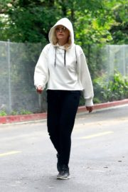 Malin Akerman Out for a walk at Griffith Park in Los Angeles 2020/04/08 2