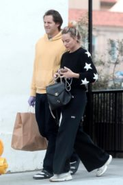 Margot Robbie with her hubby Tom Ackerley out in Los Angeles 2020/03/31 12