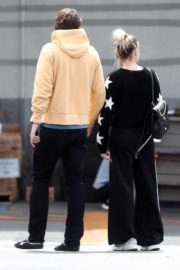 Margot Robbie with her hubby Tom Ackerley out in Los Angeles 2020/03/31 13