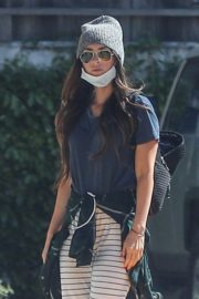 Megan Fox arrives local CVS Pharmacy in Woodland Hills 2020/04/15 1