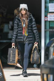 Megan Fox leaves after Shopping Erewhon Market in Calabasas 2020/04/02 12