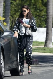Nina Dobrev after a morning workout in Los Angeles 2020/04/03 2