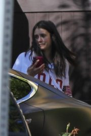Nina Dobrev after a morning workout in Los Angeles 2020/04/03 3