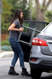 Nina Dobrev out and about in Los Angeles, California 2020/04/07 2