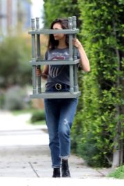 Nina Dobrev out and about in Los Angeles, California 2020/04/07 4