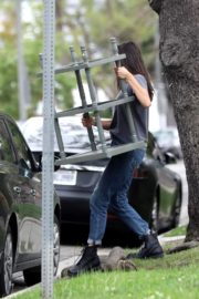 Nina Dobrev out and about in Los Angeles, California 2020/04/07 6