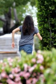Nina Dobrev out and about in Los Angeles, California 2020/04/07 11