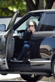 Ashley Benson seen for the first time after rumored split from Cara Delevingne in Los Angeles 2020/05/09 2