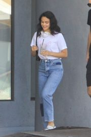 Camila Mendes with a Mystery Men during quarantine time in Los Angeles 2020/05/08 1