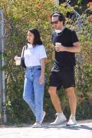 Camila Mendes with a Mystery Men during quarantine time in Los Angeles 2020/05/08 7