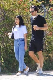 Camila Mendes with a Mystery Men during quarantine time in Los Angeles 2020/05/08 8