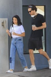 Camila Mendes with a Mystery Men during quarantine time in Los Angeles 2020/05/08 9