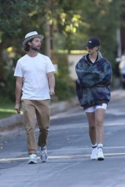 Abby Champion and Patrick Schwarzenegger Out in Pacific Palisades 2020/06/17 1