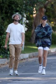Abby Champion and Patrick Schwarzenegger Out in Pacific Palisades 2020/06/17 2