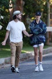Abby Champion and Patrick Schwarzenegger Out in Pacific Palisades 2020/06/17 4