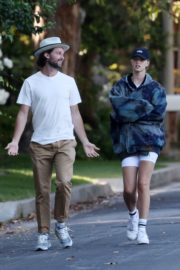Abby Champion and Patrick Schwarzenegger Out in Pacific Palisades 2020/06/17 5
