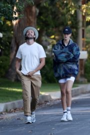 Abby Champion and Patrick Schwarzenegger Out in Pacific Palisades 2020/06/17 6