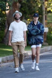 Abby Champion and Patrick Schwarzenegger Out in Pacific Palisades 2020/06/17 7