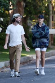 Abby Champion and Patrick Schwarzenegger Out in Pacific Palisades 2020/06/17 8
