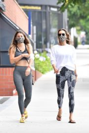 Alessandra Ambrosio at a Gym in Hollywood 2020/06/19 2