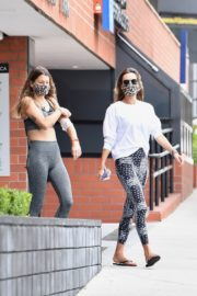Alessandra Ambrosio at a Gym in Hollywood 2020/06/19 8