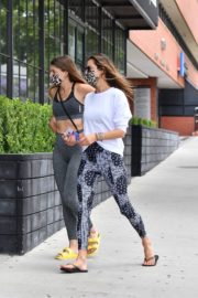 Alessandra Ambrosio at a Gym in Hollywood 2020/06/19 13