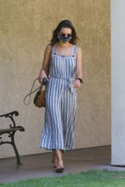Alessandra Ambrosio at Dermacare Facial Clinic Spa in Woodland Hills 2020/06/04 2