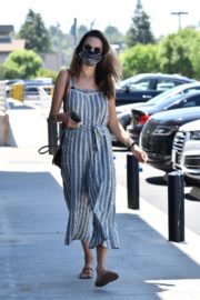 Alessandra Ambrosio at Dermacare Facial Clinic Spa in Woodland Hills 2020/06/04 6