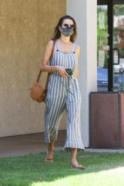 Alessandra Ambrosio at Dermacare Facial Clinic Spa in Woodland Hills 2020/06/04 7