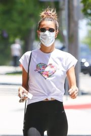 Alessandra Ambrosio Leaves a Gym in Brentwood 2020/06/15 16