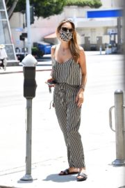 Alessandra Ambrosio Out for Lunch in Santa Monica 2020/06/19 1