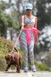 Alessandra Ambrosio Out with Her Dog in Pacific Palisades 2020/06/02 1