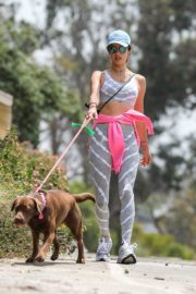 Alessandra Ambrosio Out with Her Dog in Pacific Palisades 2020/06/02 3