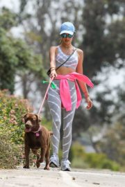 Alessandra Ambrosio Out with Her Dog in Pacific Palisades 2020/06/02 4