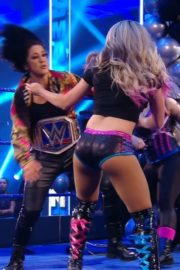 Alexa Bliss and Nikki Cross at WWE Smackdown in Orlando 2020/06/12 12
