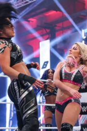 Alexa Bliss and Nikki Cross at WWE Smackdown in Orlando 2020/06/12 25