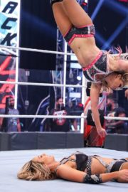 Alexa Bliss and Nikki Cross at WWE Smackdown in Orlando 2020/06/12 45