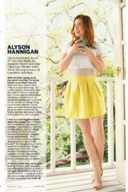 Alyson Hannigan in Health Magazine, July/August 2020 1