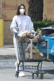 Amelia Gray Hamlin Out Shopping in Studio City 2020/06/06 4