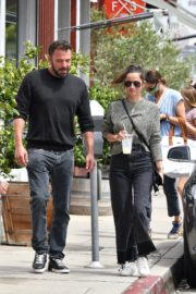 Ana de Armas and Ben Affleck at Brentwood Country Mart 06/20/2020 12