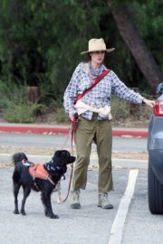 Andie MacDowell Out Hiking with Her Dogs in Los Angeles 2020/06/11 3
