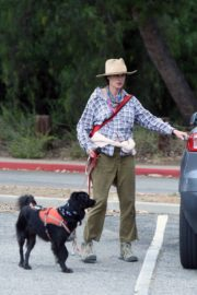 Andie MacDowell Out Hiking with Her Dogs in Los Angeles 2020/06/11 4