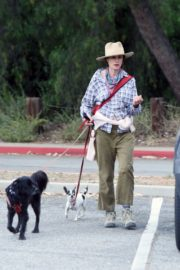 Andie MacDowell Out Hiking with Her Dogs in Los Angeles 2020/06/11 5